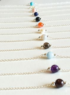 Having lots of fun making these birth stone bracelets ready for the handmade fair at hampton court on Friday x