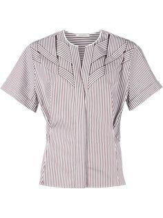 Nina Ricci chemise rayé à design structuré