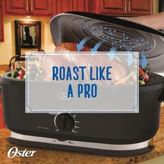 Ever wonder why in some cases, using a roaster oven is better than using a stove-top range? Learn how to roast like a pro just in time for that Thanksgiving turkey! Nesco Roaster Oven, Turkey In Roaster Oven, Roaster Oven Recipes, Electric Roaster Ovens, Oven Turkey Recipes, Roast Beef Recipes, How To Cook Meatloaf, How To Cook Beef, Cooking A Roast