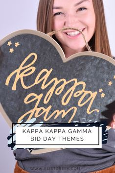 Bid Day is right around the corner, have you started planning yet? Here at A-List Greek we narrowed down our 20 favorite themes to help your planning process! #kappakappagamma #kkg #kappa #bidday #biddaythemes #biddayplanning #biddaygifts