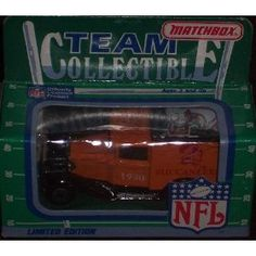 Tampa Bay Buccaneers 1990 Matchbox White Rose NFL Diecast Ford Model A Truck Collectible Car by NFL   $29.89 Packaging News, College Football Teams, Matchbox Cars, Tampa Bay Buccaneers, Atlanta Falcons, Ford Models, Pittsburgh Steelers, Ford Trucks, White Roses