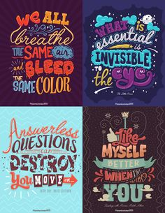 This is actually my work and this inspires me everyday. To create more and more typography quotes and eventually come up with a lot of them to inspire more. Cool Typography, Typography Quotes, Typography Inspiration, Typography Letters, Typography Poster, Graphic Design Inspiration, Calligraphy Quotes, Brush Lettering, Lettering Design