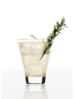 [ Recipe: Rosemary Lemon Fizz - and other herbed drinks ] Made with: SKYY Infusions Citrus Vodka, rosemary sprig, lemon juice, lemongrass simple syrup, and soda. ~ from The Spir.it