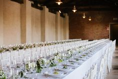 Rectangle Wedding Tables http://www.weddingchiara.it/en/