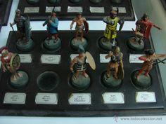 Juguetes Antiguos: Coleccion de 59 soldaditos marca Almirall Palou con sus bases - Foto 2 - 39851430