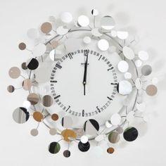 Mirror Wall Clock-modern-clocks-Mirror Wall Clock