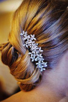 Pretty hair clip. Christina Garcia Accessories of Distinction.