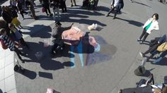 Joe Mangrum Creating Sand Art of Bernie Sanders in Washington Square Park  Bernie Sanders for President 2016 - Every grain of sand represents a living organism in this universe. When we come together, and think outside of the box, theres something beautiful that happens!  #battleofnewyork #feelthebern #joemangrum #joemangrumopenairmuseumofephemeralart #sandart #sandpainting #washingtonsquarepark #berniesandart #battleofNY  Follow me on Facebook http://www.facebook.com/joe.mangrum.art ...