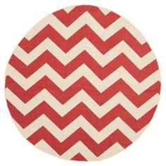 Safavieh Elvas Patio Rug - Red
