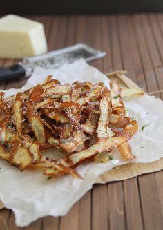 Crispy Potato Strips [Running to the Kitchen]