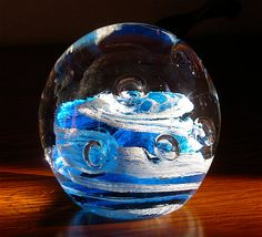 Vintage Controlled Bubble Ocean Wave by SecondHandTheatre on Etsy, $55.00