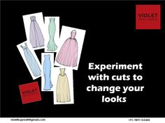 Different cuts of dresses have the power to change your look differently.  +91-9891153300 | violetbypreeti@gmail.com www.preetisinghal.com