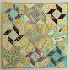 balkan puzzle quilt finish on show and tell tuesday!