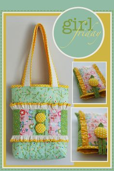 cute bag! @Jemima Puddleduck