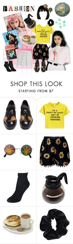 """walls were crying. so was I"" by mr-burns ❤ liked on Polyvore featuring Prada, Kate Spade and American Apparel"