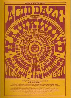 Hawkwind /Pink Fairies/Naz Nomad/Doctor and the Medics!!!!  Would have killed to be at this show <3  I'm guessing circa 1987