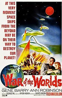The War of the Worlds (1953) Approved  -  A small town in California is attacked by Martians.  -   Director: Byron Haskin  -   Writers: H.G. Wells (novel), Barré Lyndon (screenplay)  -   Stars: Gene Barry, Ann Robinson, Les Tremayne  -   ACTION / HORROR / SCI-FI