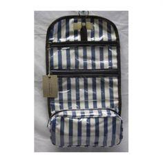 Thandana - Rolldown Toiletry Bag - Blue Stripe - #poshprezzi Toiletry Bag, Blue Bags, Blue Stripes, Gifts For Women, Cosmetic Bag, Dopp Kit, Cosmetic Case, Blue Streaks