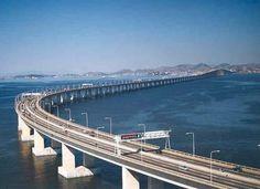 Rio Niteroi Bridge in the State of Rio de Janeiro in Brazil