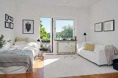 Charmante Einzimmerwohnung in Schweden mit den besten Vorteilen aus zwei Epochen - #Wohnideen