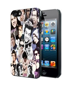 Harry Styles Collage One Direction iPhone 4 4S 5 5S 5C Case