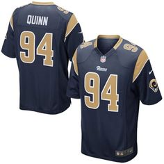 Mens St. Louis Rams Robert Quinn Nike Navy Blue Game Jersey Nfl Jerseys Men 8a0cb25d8
