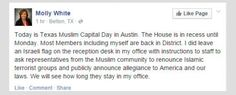 On Texas Muslim Capital Day, GOP Lawmaker Demands Muslims Take Loyalty Oath . . . with Israeli Flag | Alternet #islamophobia #racismUSA #ChristianNationalists