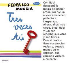 Tres veces tú- Federicco Moccia