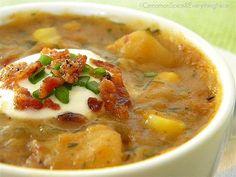 Chipotle Corn and Potato Chowder