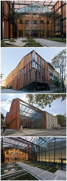 The building of the Małopolska Garden of Arts (MGA) has been constructed according to a competition-winning (Union of Polish Architects, SARP 2005) design by Ingarden & Ewy Architects.