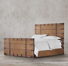 Wood Beds | Restoration Hardware