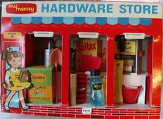 MERRY: 1959 My Merry Hardware Store #Vintage #Toys