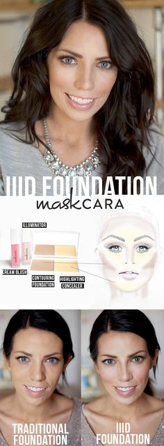 The most amazing foundation system ever! Get glowing, flawless and sculpted coverage in seconds!