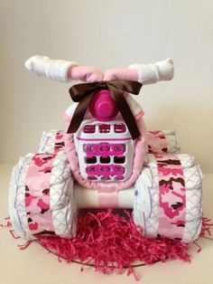 When I have a baby, I'd love someone forever if they made me this for my baby shower!! (Girl)