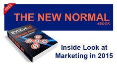 "The ""New Normal"" is the term given to how marketing has changed recently and specifically within the past year or so. In this eBook we will discuss the critical aspects of marketing that are most impacted by the New Normal. We will look at areas in which your marketing strategies and techniques can evolve in order for your business to thrive in the New Normal. In particular, we will focus on Inbound Marketing techniques, which has now surpassed Outbound campaigns. The New Normal, Marketing Techniques, Marketing Strategies, Inbound Marketing, The Past, Campaign, News, Business, Store"