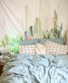 When your bedroom is on point. #Cacti - Awesome #WallTapestry