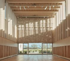 Stirling Prize shortlist includes a Jewish cemetery, an innovative office complex, among other buildings Architecture Texture, Architecture Today, Timber Architecture, British Architecture, Architecture Portfolio, Architecture Details, Innovative Office, Timber Structure, Inspiration