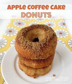 Apple Coffee Cake Donuts 1