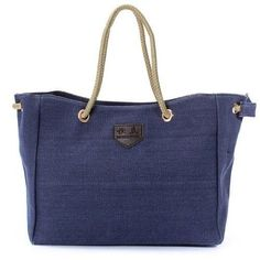 New Women Shopping Bags Casual Canvas Rope Tote Bag Shoulder Bag Large Capacity #Unbranded