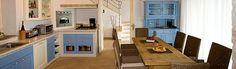 View of the kitchen / diner at Casa Sienna, Luxury Villa to Rent in Istria, Croatia.