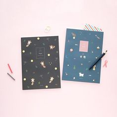 Livework's Piyo Line Notebooks are Korean stationery perfection!  #stationery #notebook by stickerstack