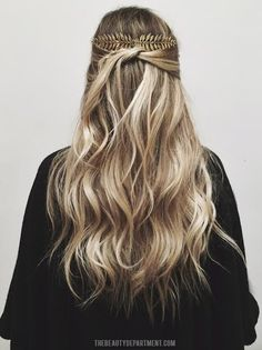 LOVE! quick easy holiday hair idea: extra long combs