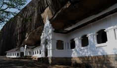 The cave monastery of Dambulla, a World Heritage site, has five sanctuaries.