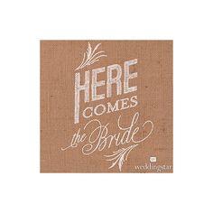 le-fanion-here-comes-the-bride-inscription-blanche.jpg (800×800)