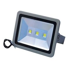 Ledwholesalers Brightest 150 Watt LED Indoor Outdoor Waterproof Security Floodlight, 3710wh by Ledwholesalers. $310.00. Operating Voltage:100-240VAC, 50/60Hz Maximum Power Consumption:100 Watt LED Quantity:150 x 1W Beam Angle:120° x 60° LED Color (White):6000K Light Output (White / Warm-white):9000 lm  Operating Temperature:-20 ~ 40°C IP Rating:IP65 Life Expectancy:>50,000h Maximum Projected Area:34 x 10m (111 x 33ft) Mounting Height:5-7m (16-30ft) Dimensions (WxDxH):See...
