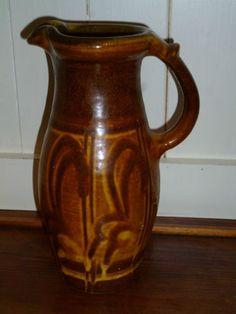 SLIPWARE Tall Studio Pottery EARLY JUG