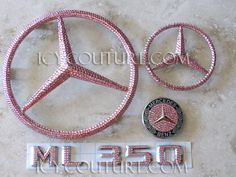BLING Mercedes Emblems with Swarovski Crystals by IcyCouture