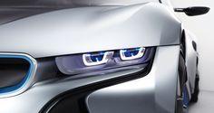 BMW i8 Concept Laser Lights