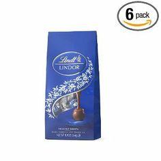 Lindt Chocolate Lindor Dark 9 3 Ounce