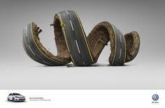 The Print Ad titled Razor Sharp Handling was done by Ogilvy Cape Town advertising agency for product: Volkswagen Golf Gti (brand: Volkswagen) in South Africa. Ads Creative, Creative Advertising, Advertising Design, Advertising Ideas, Advertising Agency, Creative Director, New Golf Gti, Ogilvy Mather, Ad Of The World